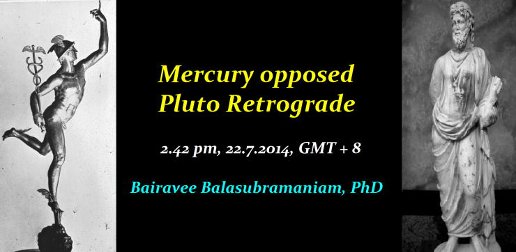 Mercury Pluto Rx opposition