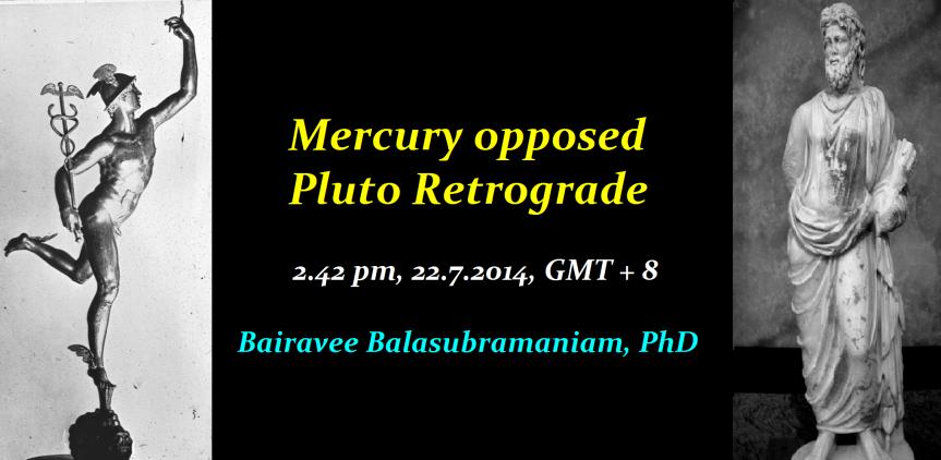 Mercury Pluto Rx opposition