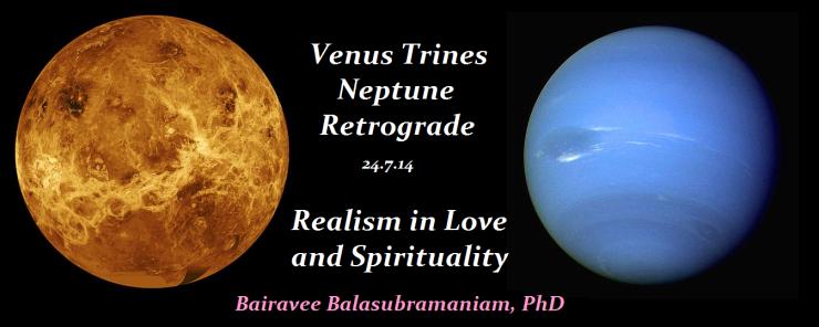 Venus trines Neptune Retrograde
