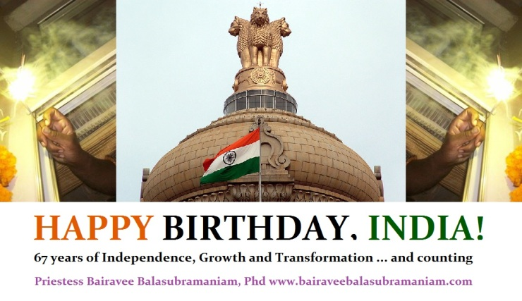 Happy Birthday India