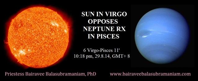 Sun Neptune Opposition