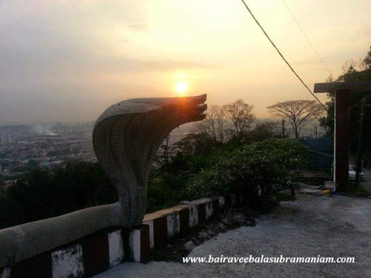 5 headed serpent shiva temple