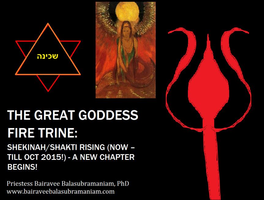 Great Goddess Fire Trine