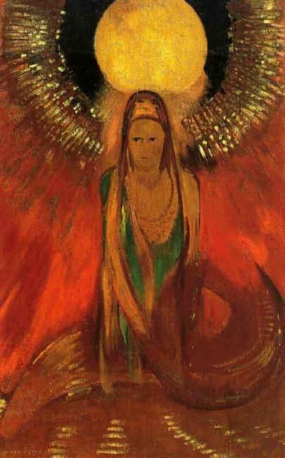 The_Flame_-_Odilon_Redon