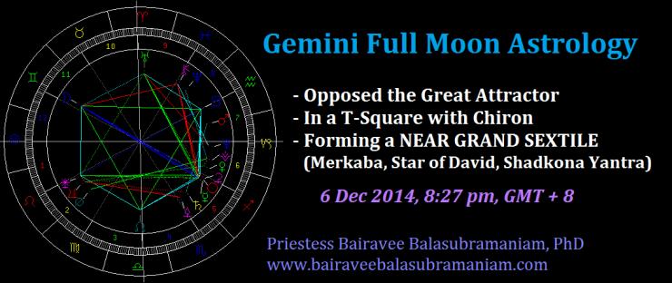 Gemini Full Moon Astrology 6 December 2014