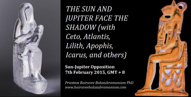 Sun jupiter face shadow