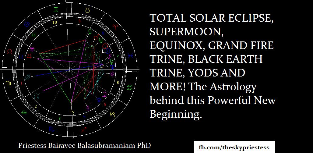 TOTAL SOLAR ECLIPSE, SUPERMOON, EQUINOX, GRAND FIRE TRINE ...