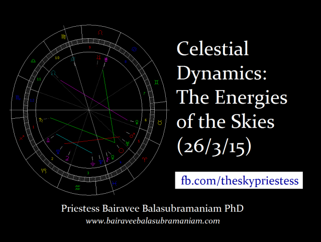 Celestial Dynamics The Energies of the Skies (26 3 15)