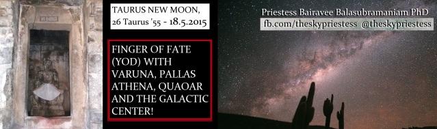 Skypriestess Taurus New Moon May 2015