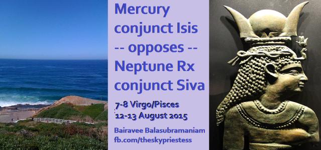 Mercury opposed Neptune
