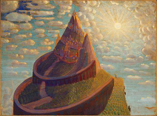 Mikalojus_Konstantinas_Ciurlionis_-_FAIRY_TALE_(CASTLE_FAIRY_TALE)_-_1909 (4)