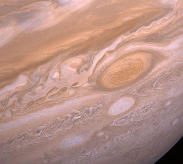 PIA01527_Jupiter's_Violent_Storms