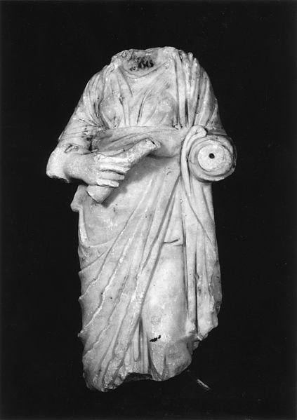 Roman_-_Statue_of_Hygeia,_Goddess_of_Health_-_Walters_2342