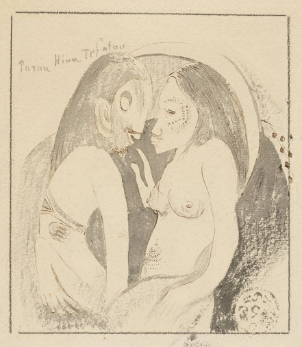 Gauguin_Parau_Hina_Tefatou