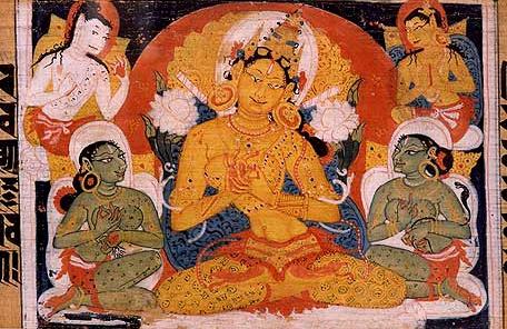 Astasahasrika_Prajnaparamita_Image_of_Prajnaparamita